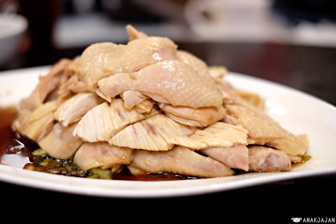 Signature Boiled Chicken IDR 105k Half/ IDR 198k Whole