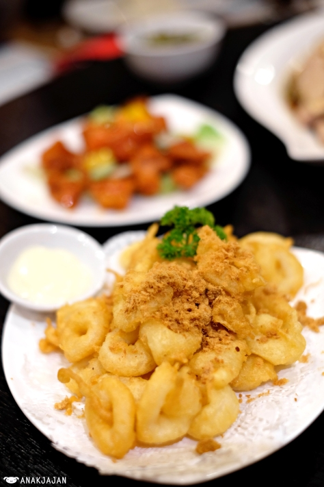 Squid Ring with Mayonnaise IDR 70k
