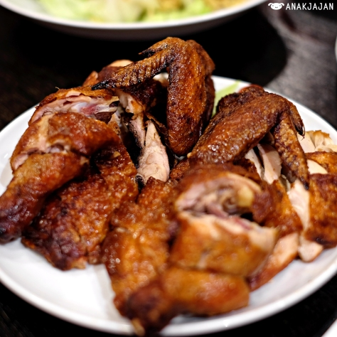 Signature Roast Chicken IDR 105k Half/ IDR 198k Whole