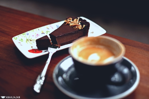 Choco Tart IDR 45k