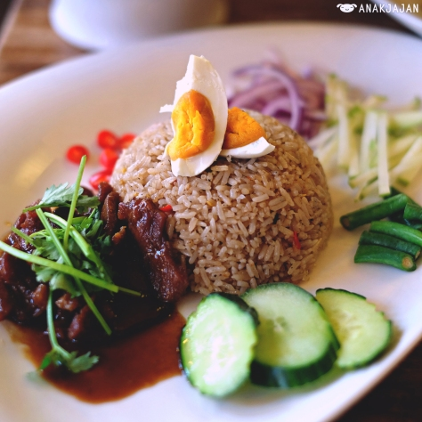 Nam Prik Fried Rice AUD 14.90
