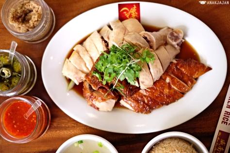 Half Mix Chicken (Steamed & Roasted) IDR 96k