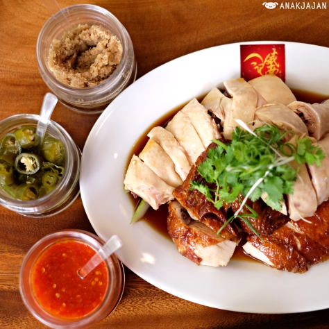 Half Mix Chicken (Steamed & Roasted) IDR 96k