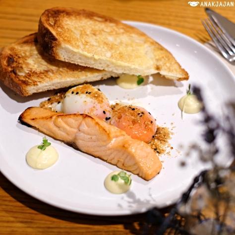 Miso Cured Salmon IDR 120k