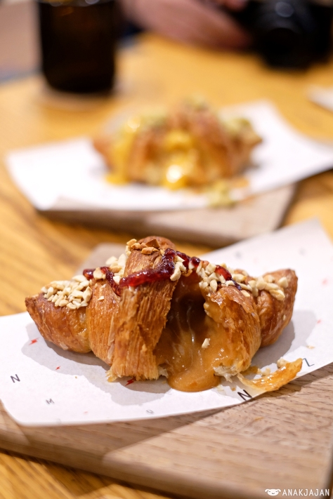 Peanut Butter & Jelly Lava Croissant IDR 30k