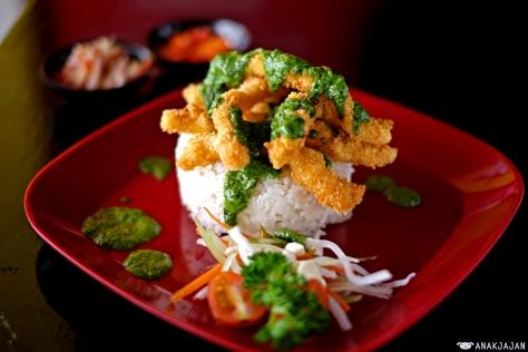 Calamari Pesto Rice IDR 33k