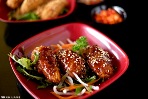 Chicken Wings Spicy Teriyaki (3pcs) IDR 15k