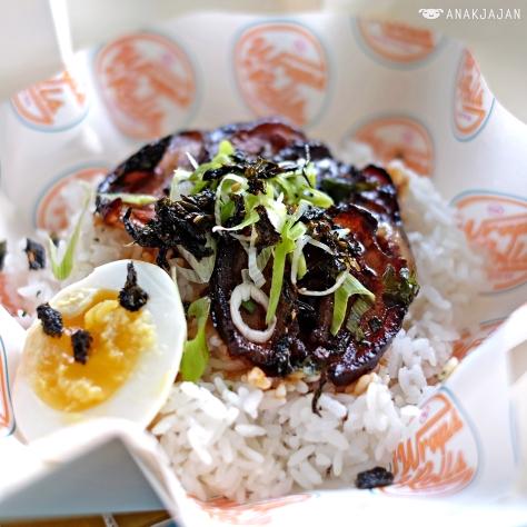 Char-siu Rice Box IDR 42k