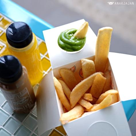 Potato Fries with Seaweed Dip IDR 28k
