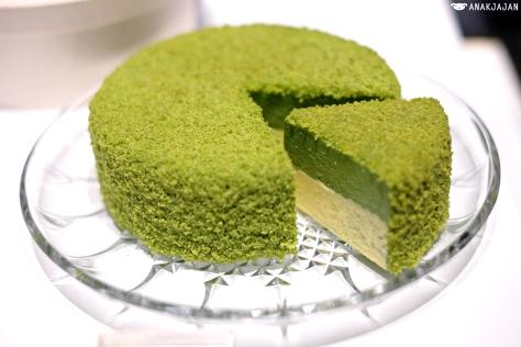 Matcha Green Tea Fromage Cake