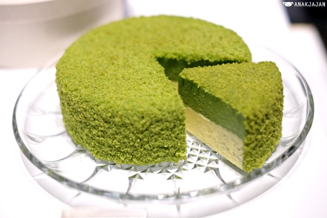 Matcha Green Tea Fromage Cake