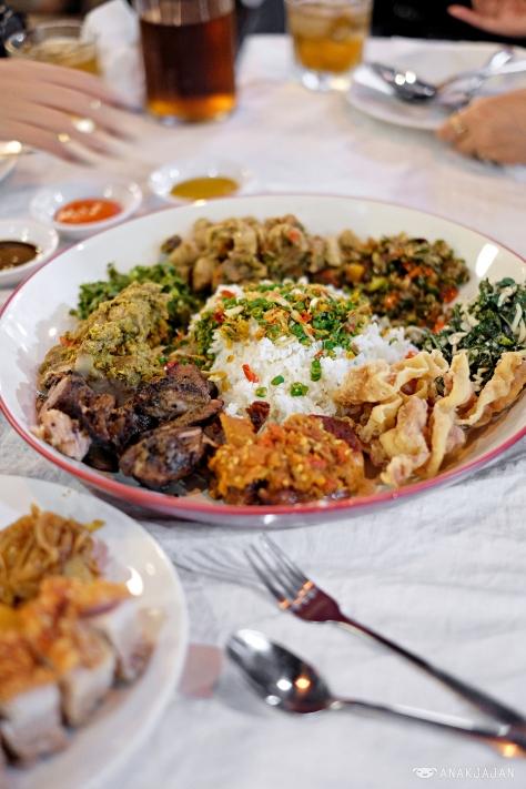 Indonesia big Pork Rice IDR 225k