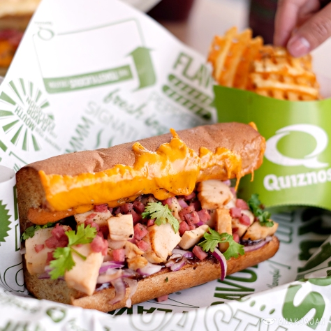 Baja Chicken Sub IDR 60k (6 inches) + Waffle Fries IDR 20k