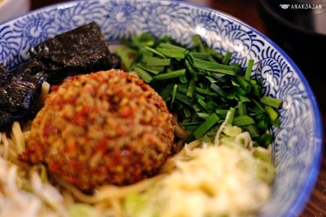 Spicy Kucai Mazesoba IDR 60k