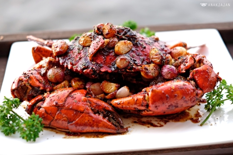 Kepiting Butter Garlic (Butter Garlic Jumbo Crab)