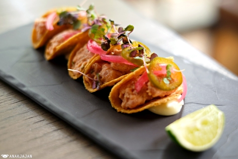Spicy Tuna Tacos IDR 75k