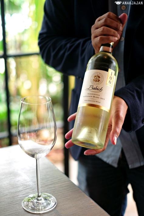 2015 Babich, Sauvignon Blanc, Marlborough IDR 625k