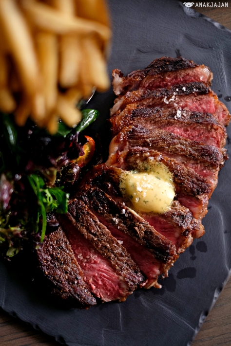 Steak Frites (240g) IDR 350k