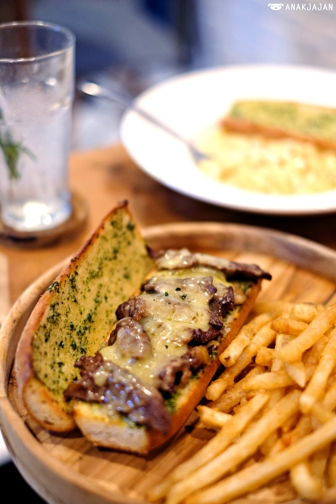 Philly Cheese Steak IDR 95k