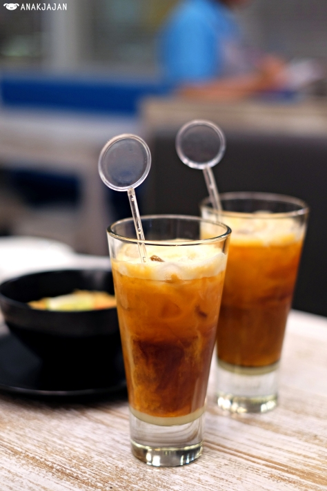 Thai Ice Tea with Basil seed IDR 21k