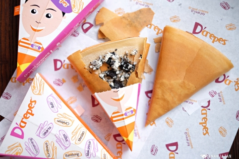 Cookie'n Creme Crepes IDR 14.545