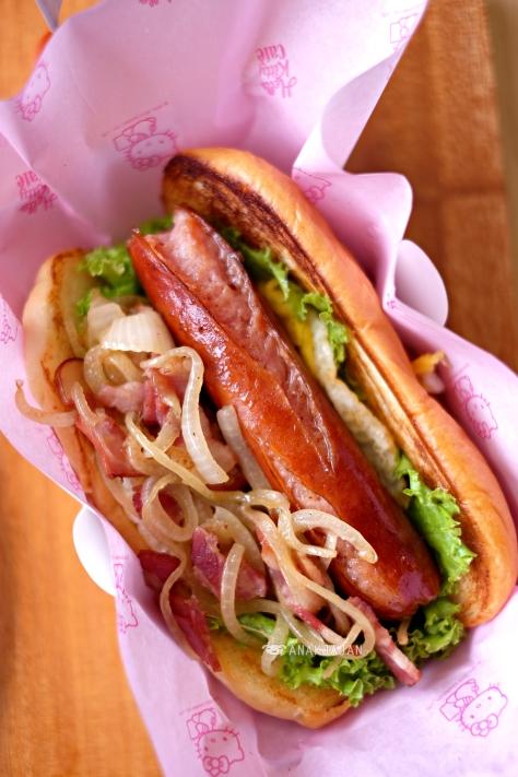 Hot Dog IDR 75k (non halal)
