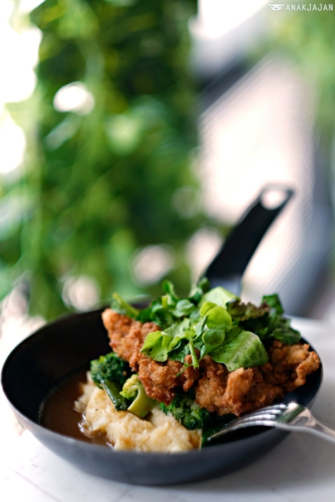 Southern Style Buttermilk Fried Chicken IDR 70k