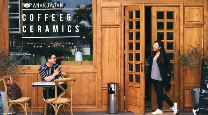 SAJIVA COFFEE & CERAMICS, Karawaci – Tangerang