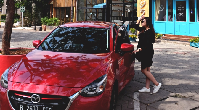 Weekend Café Hopping with All New Mazda 2