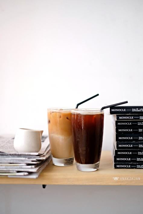 Ice Latte IDR 38k // Ice Long Black IDR 36k