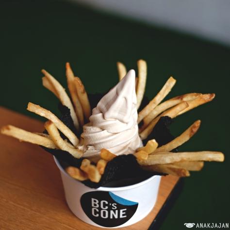 BC's Truffle Fries IDR 45k