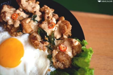 Salted Egg Chicken IDR 45k