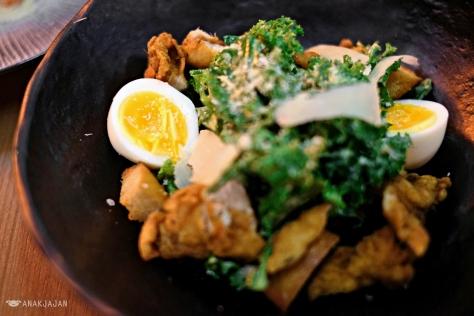 Kale Caesar Salad IDR 75k