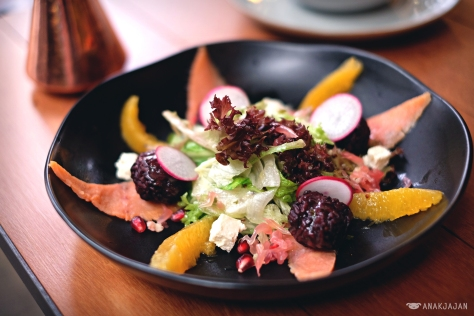 Smoked Salmon Salad IDR 80k