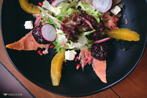 Smoked Salmon Salad IDR 80k