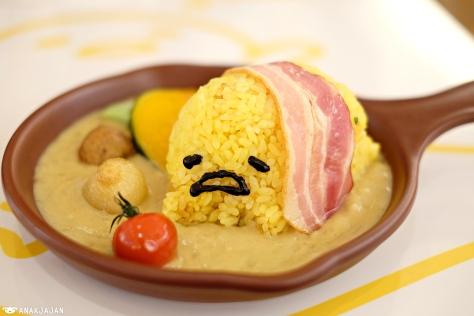 Gudetama Curry Rice JPY 1.000