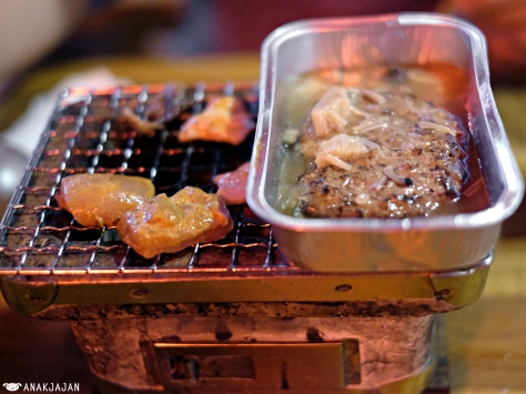 Chicken Tandoori - Yakiniku IDR 30k, Beef Hamburg - Yakiniku IDR 30k