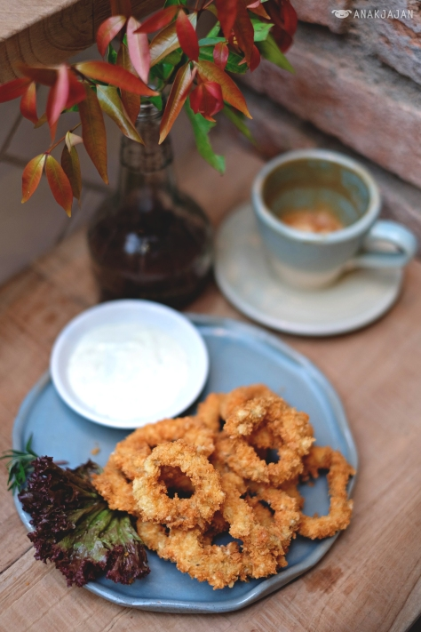 Deep Fried Calamari IDR 45k