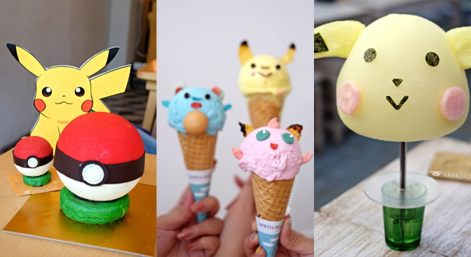 POKEMON GO Inspired Food in Jakarta