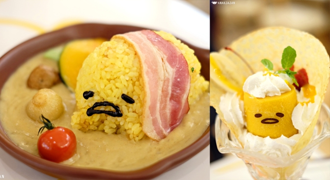 [JAPAN] GUDETAMA CAFE – HEP FIVE, Osaka
