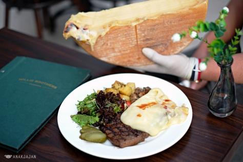 Raclette Steak IDR 175k