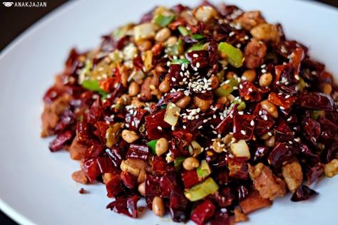 Deep Fried Chicken in Chongqing Style IDR 98k