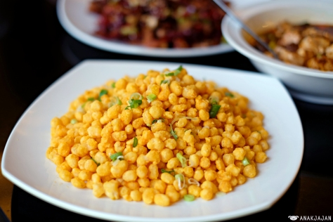 Sauteed Corn with Salted Egg Yolk IDR 68k
