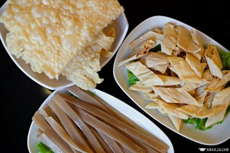 Beancurd Skin IDR 42k // Beancurd Skin IDR 42k // Chinese Sweet Potato Noodle IDR 48k
