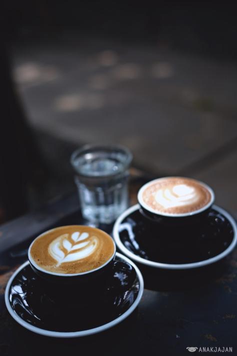 Mocha IDR 35k // Cappuccino IDR 30k + extra shot of espresso IDR 10k