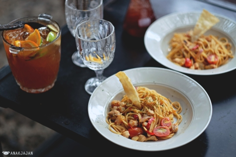 Tom Yum Pasta IDR 69k
