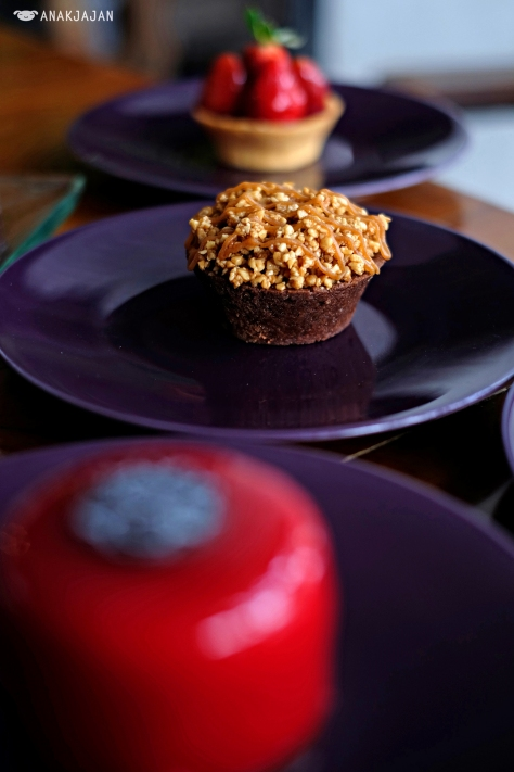 Chocolate Caramel Tart IDR 25k