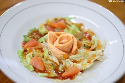 Steam Dish Salad IDR 30k