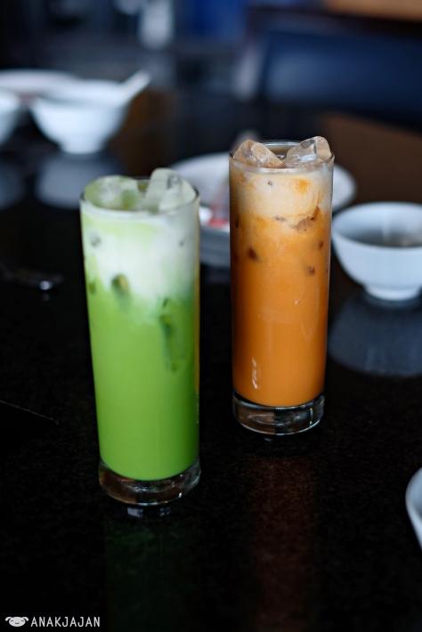 Thai Green Tea IDR 31k // Thai Iced Tea IDR 29k