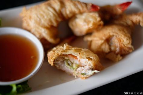 Deep Fried Shrimp in Bean Curd Skin (Udang Bungkus Tahu) IDR 76k